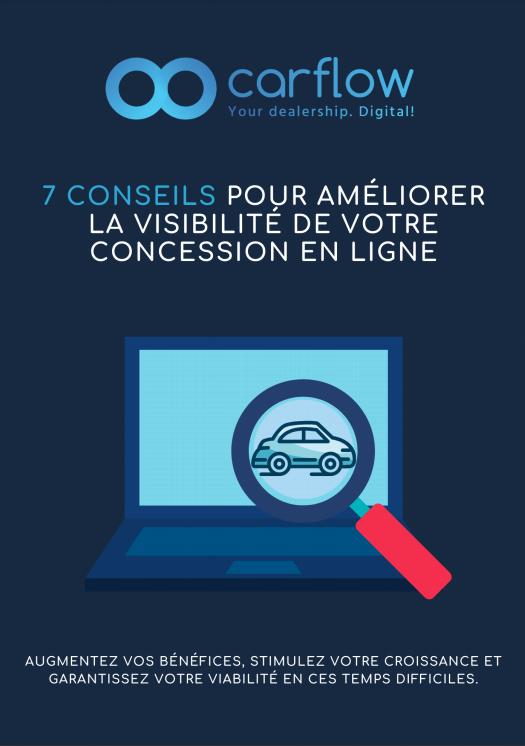 Showroom digital - 7 conseils pour favoriser la visibilité de votre concession en ligne